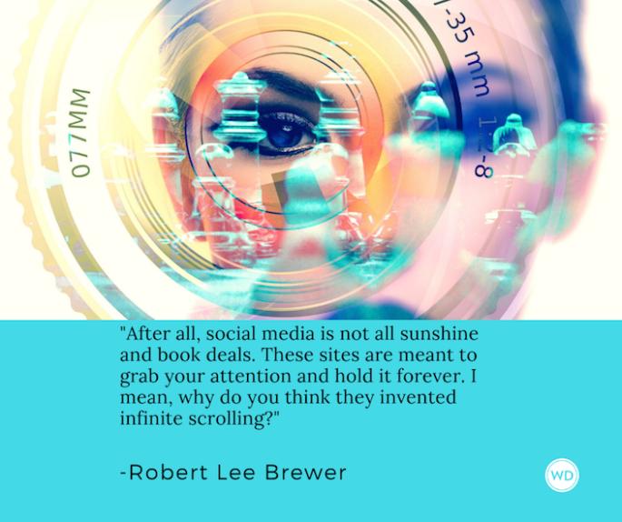 should_writers_use_social_media_robert_lee_brewer